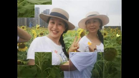 南昌「五朵金花」姐妹 畅游《马兰圩湿地公园》女儿情,酒醉的蝴蝶!