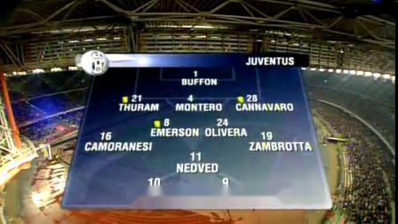 2004/05赛季欧冠四分之一决赛次回合 尤文图斯0-0利物浦