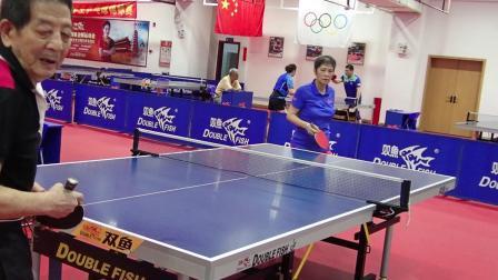 邓国雄对国家一队二个一比二输给世界冠军庄则楝和容国团