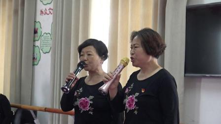 """开封顺河回族区工业办事处东苑社区""""迎七一  度端午活动"""" 女声对唱《为了谁》.MP4"""