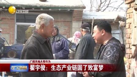辽宁新闻20170410广阔天地大有作为 翟宇俊:生态产业链圆了致富梦 高清
