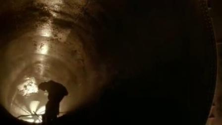 异形3 异形通风孔袭人 囚犯被风扇切碎