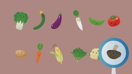 米卡视频《小菜园》:1-2岁绘本故事宝宝当家(5)