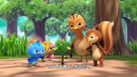 萌鸡小队05 小松鼠找橡实
