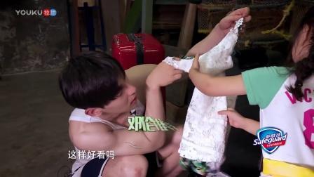 嗯哼偷亲小泡芙 奶爸刘畊宏吃飞醋