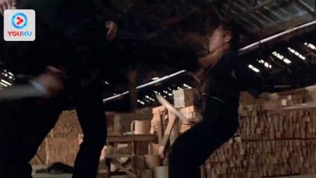 潜龙轰天3:野兽之腹 遭双刀客包围 耍太极以柔克刚