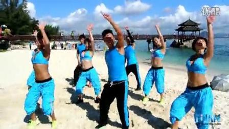 中国健身舞 凤凰传奇 感到幸福你就拍拍手  王广成编排 广场舞
