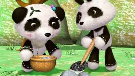 巴布熊猫成语系列 第一部 11 愚公移山 愚公移山