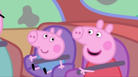 小猪佩奇第一季:清洁汽车