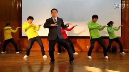老师与学生最雷人的舞蹈引全场尖叫