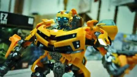 变形金刚大黃峰與判官 Transformers stop motion
