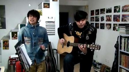 吉他弹唱 周杰伦《星晴》(郝浩涵和许峰)