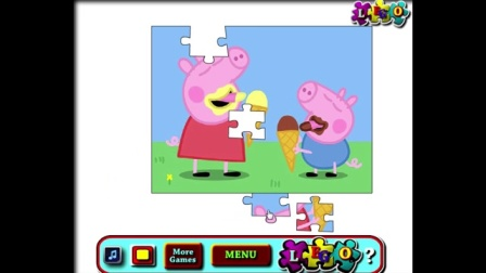 粉红猪小妹吃冰激凌