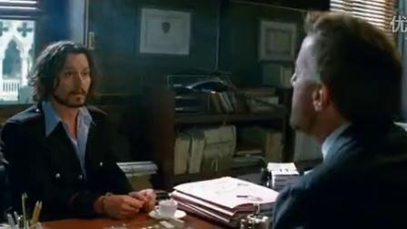 《致命伴旅》高清预告片 德普与朱莉激情热吻