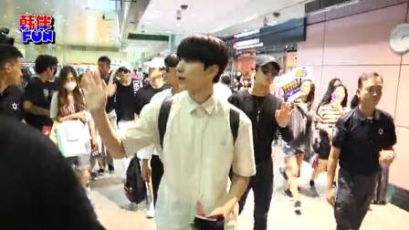 VIXX 六帅男抵台机场险暴动 野生捕获惹火韩女星 160702