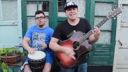 吉他弹唱 非洲梦(郝浩涵和保罗)