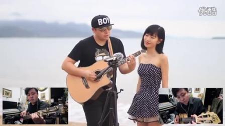 """吉他弹唱 海芋恋(本期搭档:""""小蛮腰"""" 盈盈)"""