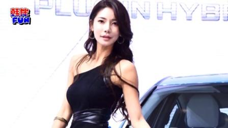 韩国车模美女集体亮相 穿着清凉大秀性感曲线
