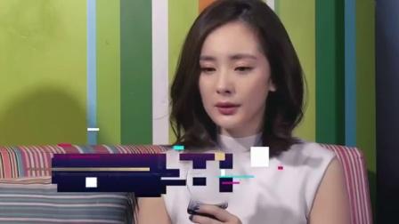 杨幂疑似整容失败 广告图惊悚吓人 170524