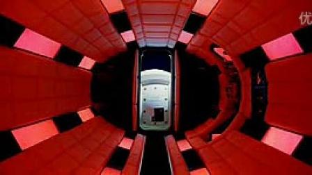 《2001太空漫游》片段 进入气闸室
