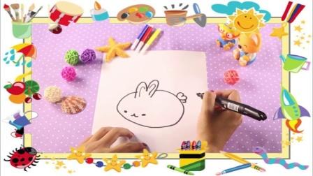 兔小卡星球 2016 十二生肖小兔子简笔画 194 十二生肖小兔子简笔画