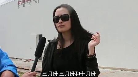 一个北京车展模特的一天