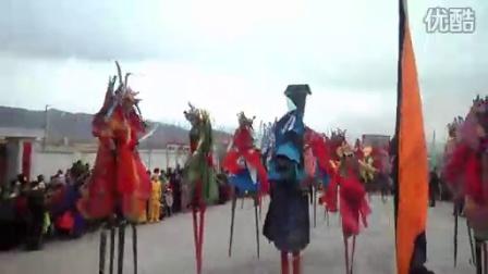 [拍客]青海海西德令哈甘南渠南2011社火