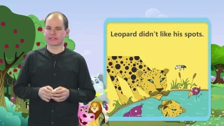 剑桥彩虹少儿英语分级阅读 11 Leopard and his Spots Leopard and his Spots
