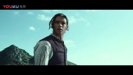加勒比海盗5:死无对证 加勒比海盗5:死无对证 杰克船长开心用骷髅食人鲨当快艇玩