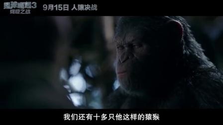 【独家片段】《猩球崛起3》终极之战前凯撒最后的和平祈愿