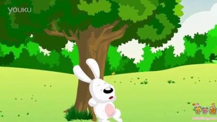 巴巴熊中文儿歌:小白兔白又白
