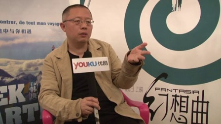 优酷全娱乐 2014 5月 专访《幻想曲》导演聊韩庚 他在《寻找罗麦》中表现超棒 140524