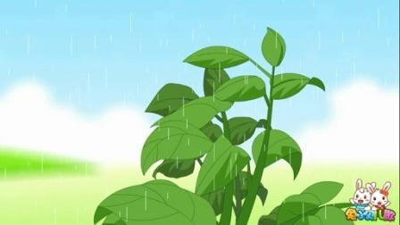 兔小贝系列儿歌  三月里的小雨 (含)歌词