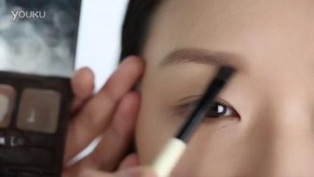 i-EVER美课美妆 2014 美妆教程 淡眉的自然眉画法 188