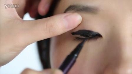 i-EVER美课美妆 2014 美妆教程 单眼皮眼线液粗眼线画法 177