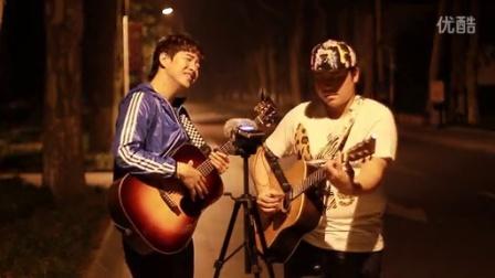 吉他弹唱 残酷月光(丁泽强和郝浩涵)