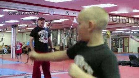 0627 擂台上的孩子 四岁孩子学习混合武术