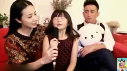 黄磊小女儿口齿不清要零食 可爱大眼萌翻网友 170801