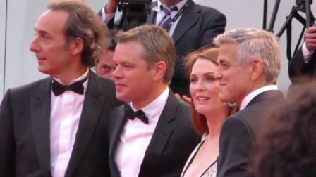 全娱乐早扒点 2017 9月 直击第74届威尼斯电影节红毯 马特·达蒙携电影《迷镇》现身 170903