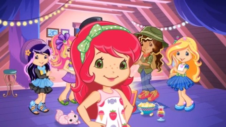 趣盒子游戏 2017 草莓小女孩 换装派对 钢琴大明星装扮 195