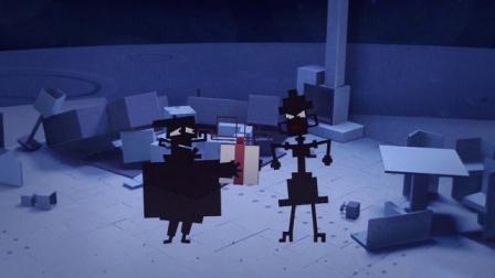 方形狗和大圆猫 03 神秘的礼物盒 神秘的礼物盒