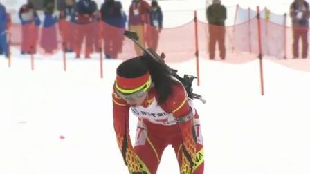 冬季两项 女子7.5公里 中国选手张岩摘银