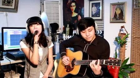 吉他弹唱 王若琳-有你的快乐(郝浩涵和楠楠)