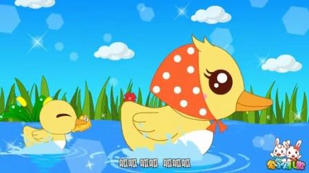 兔小贝系列儿歌  母鸭带小鸭 (含)歌词