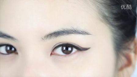 i-EVER美课美妆 2014 美妆教程 双眼皮变异猫眼眼线画法 170