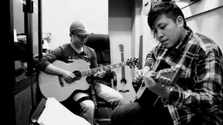 吉他弹唱 陈奕迅《你的背包》(郝浩涵和雷震)