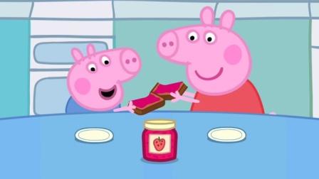 小猪佩奇 粉红猪小妹季节游戏 秋冬季 摘水果做果酱 673
