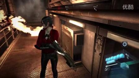 【老汉】PS4生化危机6 一周目绝望难度 艾达篇 S评价全中文剧情流程解说 04