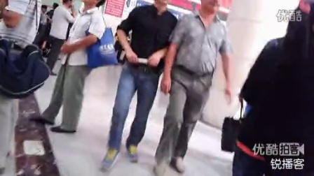 【拍客】北京站一男一女遭割喉身亡 实拍案发地点