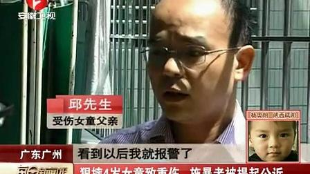 狠摔4岁女童致重伤 施暴者被提起公诉 每日新闻报 121001